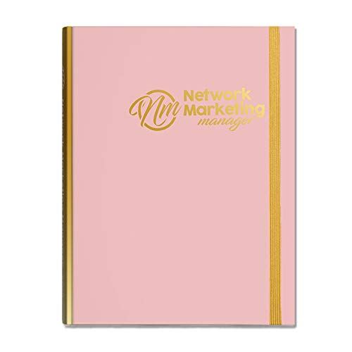 2019 Network Marketing Manager – The Ultimate Planner | Diary | Organiser for Network Marketing, Direct Selling and MLM (Rose Gold)